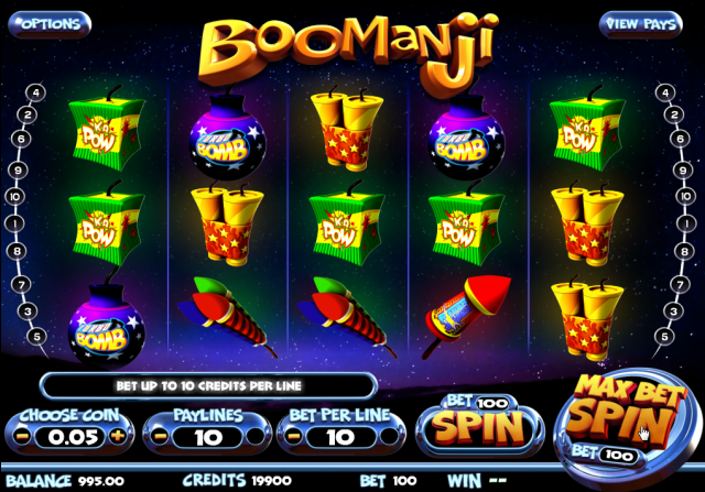 Online casino slot game